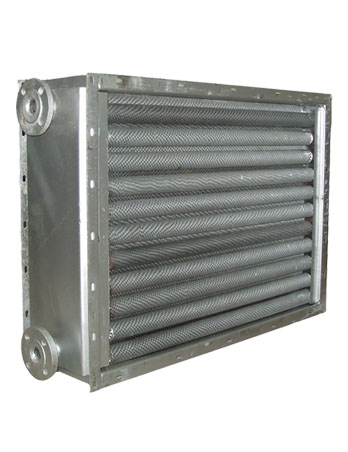 Fin Type Water to Air Heat Exchanger
